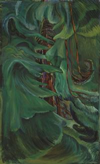 Emily Carr, Cedar, 1942