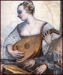 Venetian courtesan