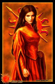 Ellaria Sand, paramour of Prince Oberyn of Dorne. By Amok