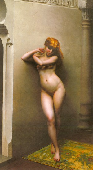 The Favorite by Luis Ricardo Falero (1880s)
