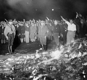 Berlin book burning May 10, 1933