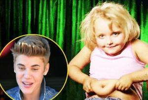 Honey Boo Boo hates Justin Bieber