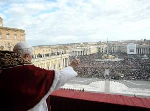 Pope Xmas blessing 2009