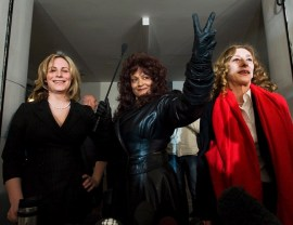 Nikki Thomas, Terri-Jean Bedford and Valerie Scott