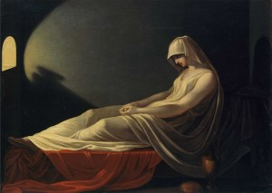 Vestal Condemned to Death (attributed to Pietro Saja, about 1800)