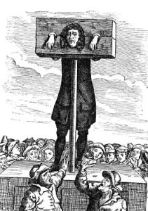 Pillory stocks