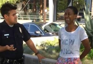 Daniele Watts arrest