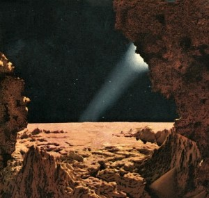 Hole in the Moon by Chesley Bonestell