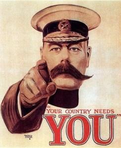 Kitchener recruiting poster