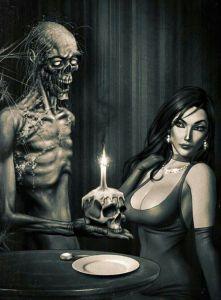 zombie and harlot