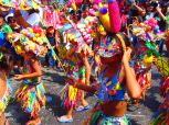 Colourful Carnaval celebrations in Guatemala