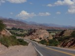 Scenic riding in the Quebrada de Humahuaca