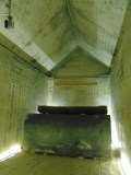 Inside though is this magnificent tomb!