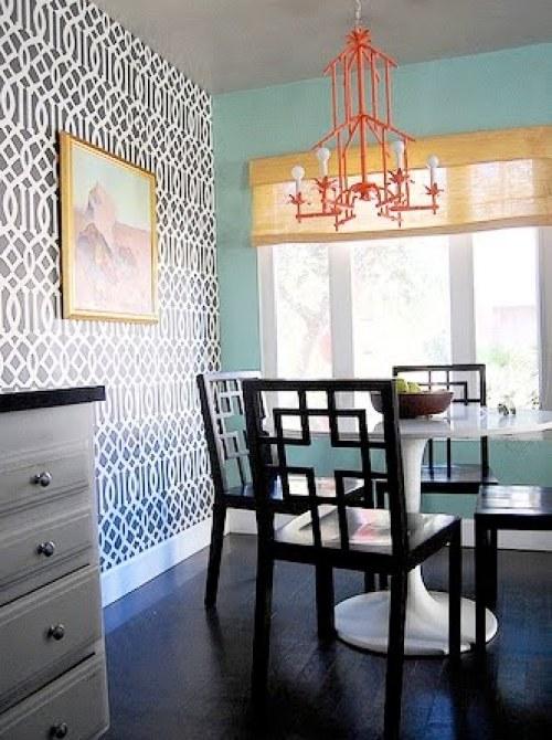 Kelly Wearstler Wallpaper for Chloe Sevigny's Home