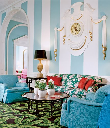 Design by Dorothy Draper the Greenbrier