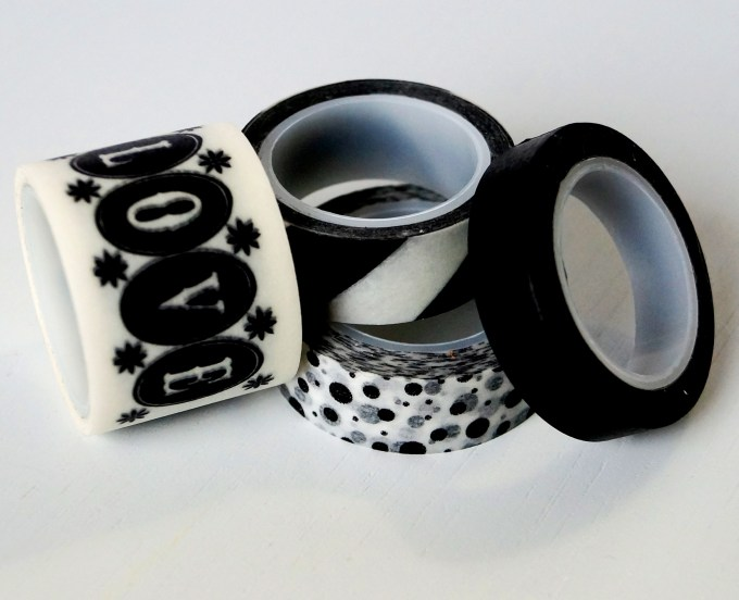 Ikea washi tape, comes in a set of 4 designs,
