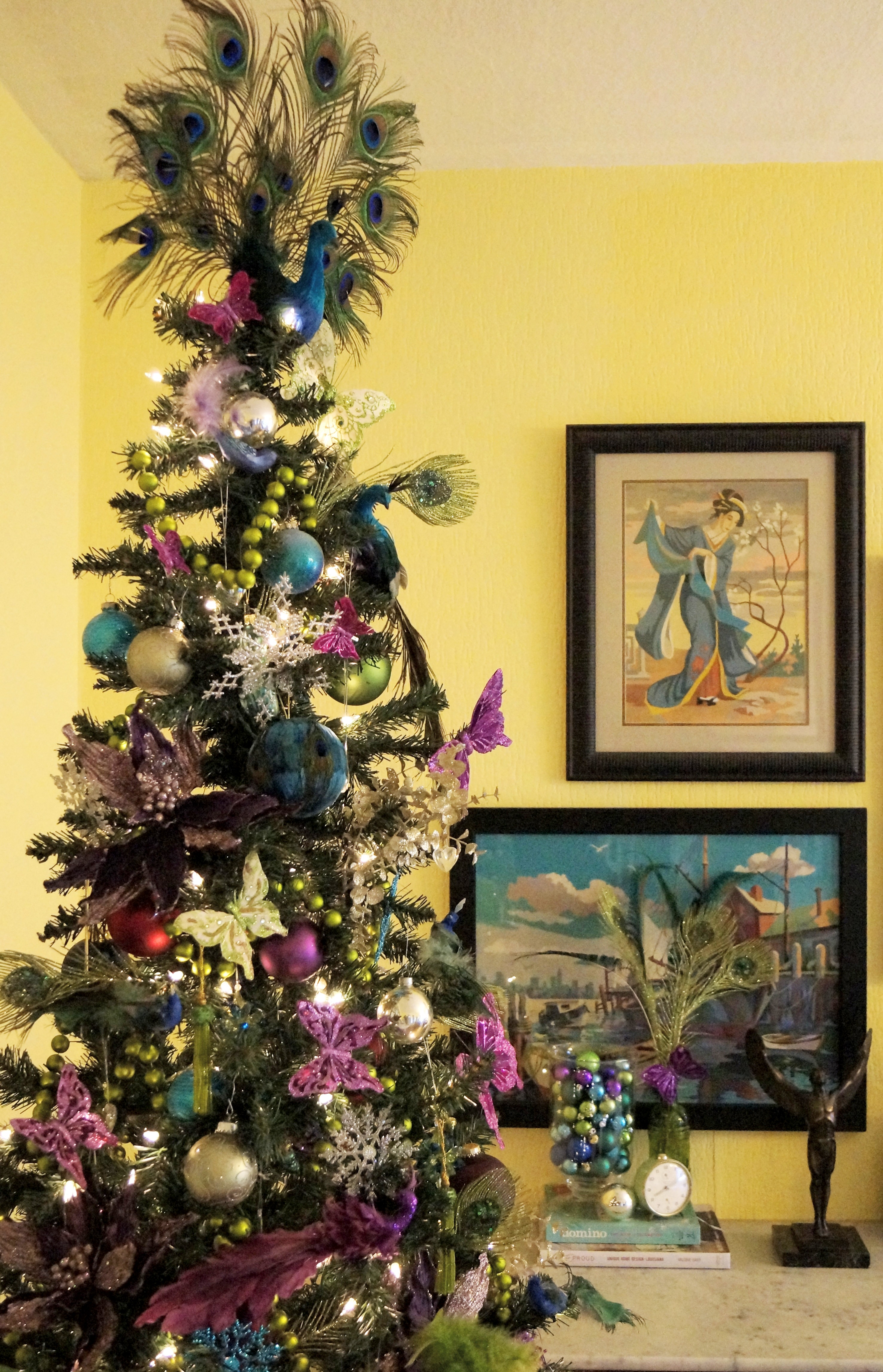 proud peacock christmas - Peacock Christmas Tree