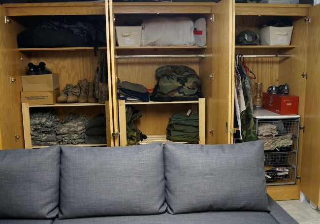 Man Cave – Furniture Finds and Camouflage