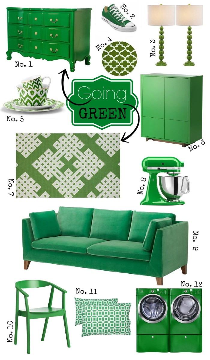 Going green with Kelly Green Decor.