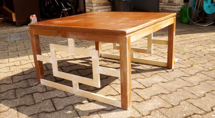 DIY Lattice Coffee Table