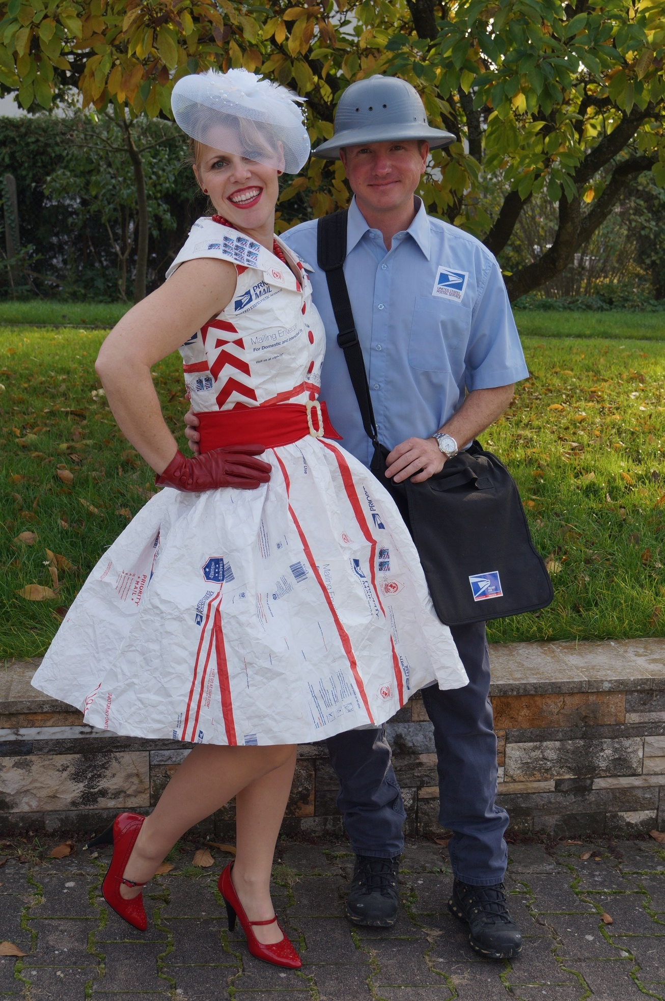Halloween Fun Mail Order Bride And Mail Man