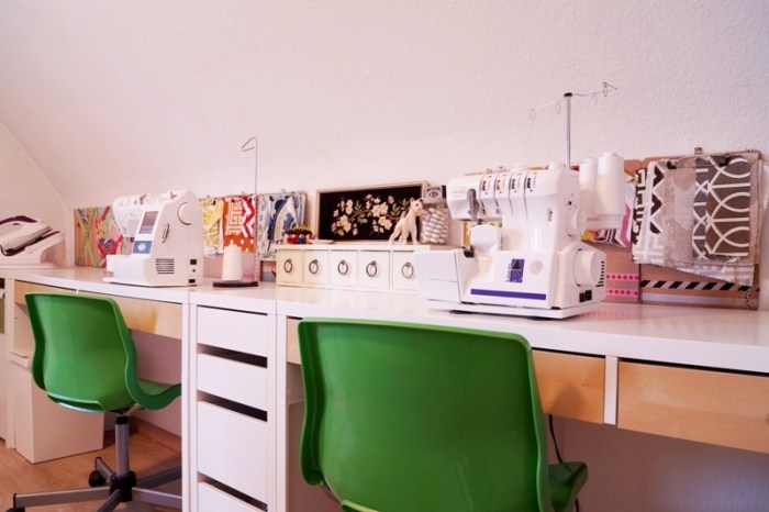 Getting Organized In the Sewing Room