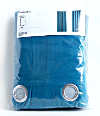 Finally A Blue Velvet Sofa