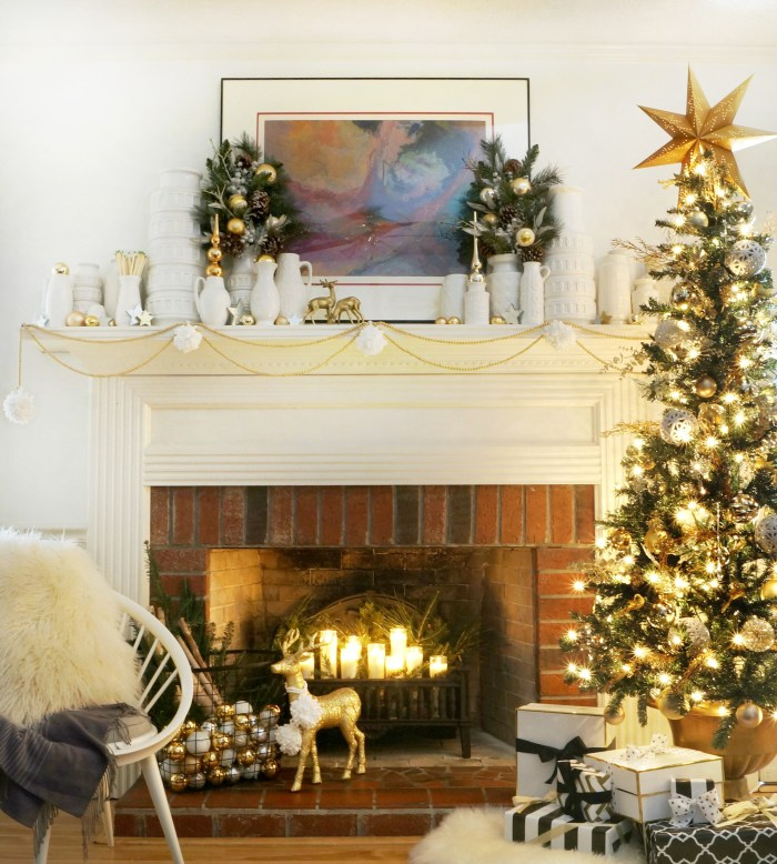 Decorating for Christmas 2015