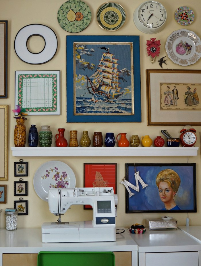 A Collected Sewing Room