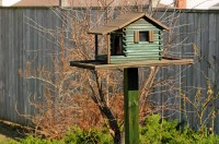 birdhouse feeder plans