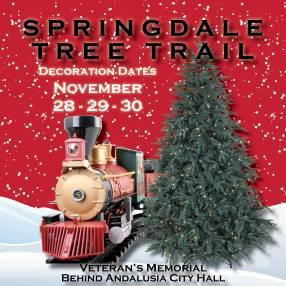 Springdale Tree Trail Decorate