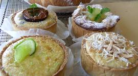 A selection of tarts small