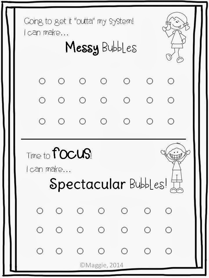 It's Bubblin Practice Time! Get your littles ready FREEBIE
