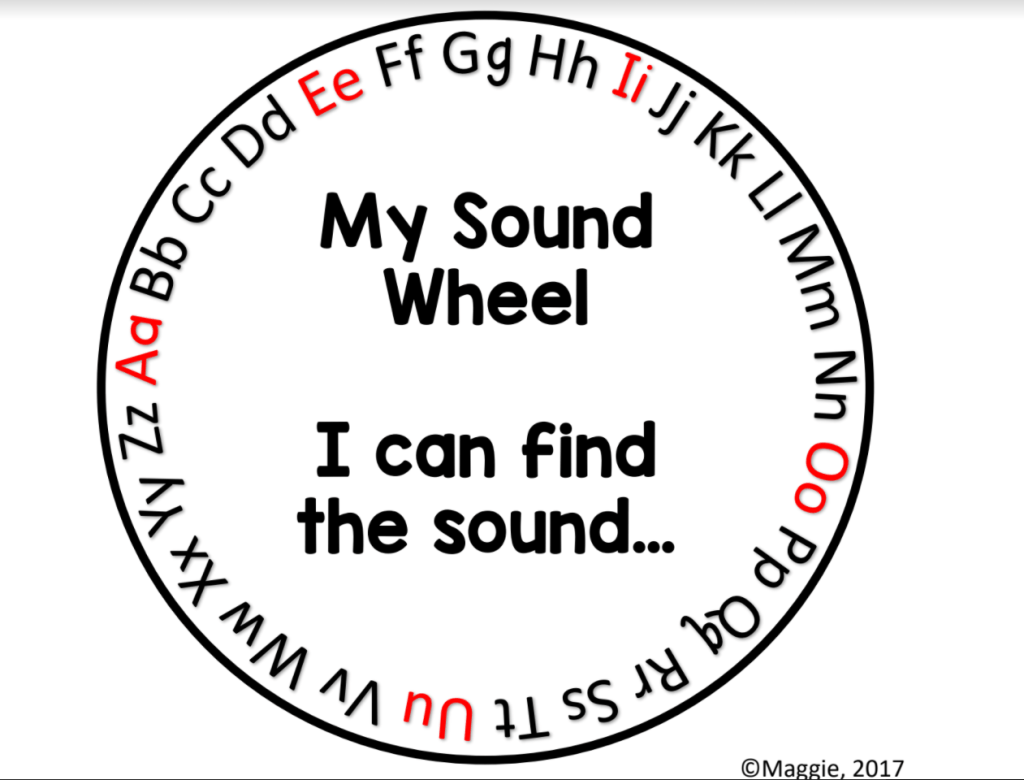 """Try a """"Sound Wheel"""" for On the Spot Comprehension Checks"""