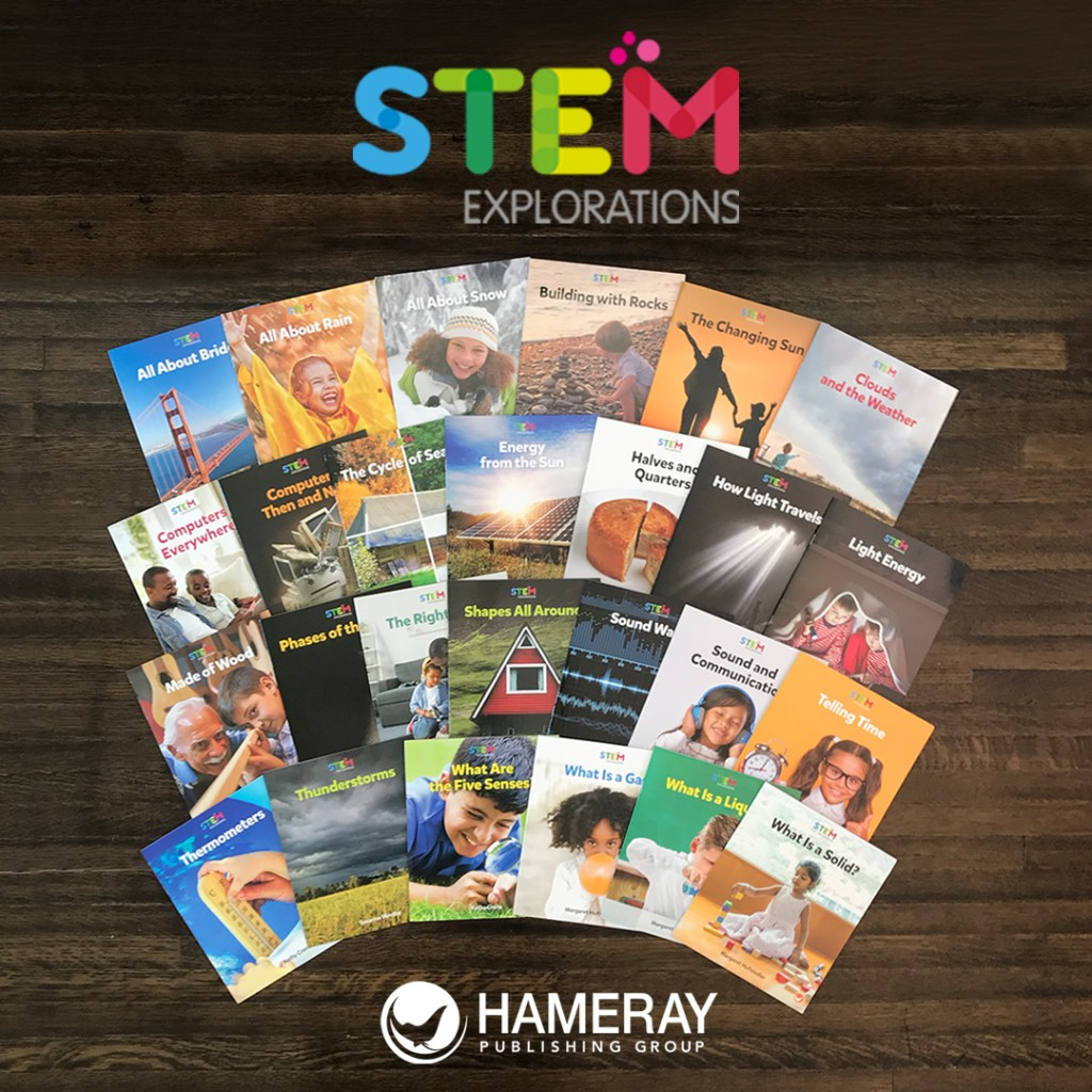 My STEM Books Giveaway Begins Friday!
