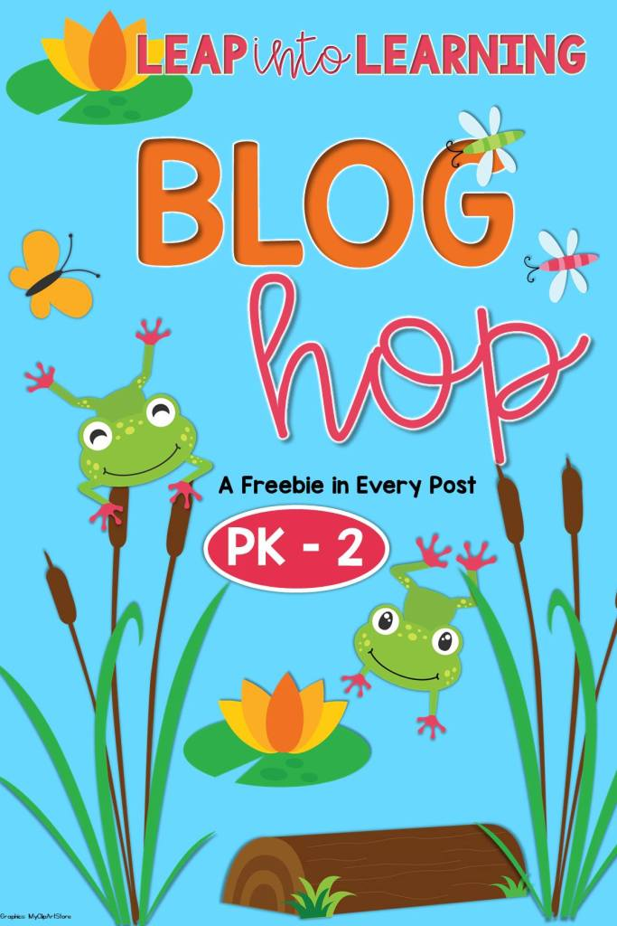 Time to Think Spring!  FREEBIES and a Blog Hop!