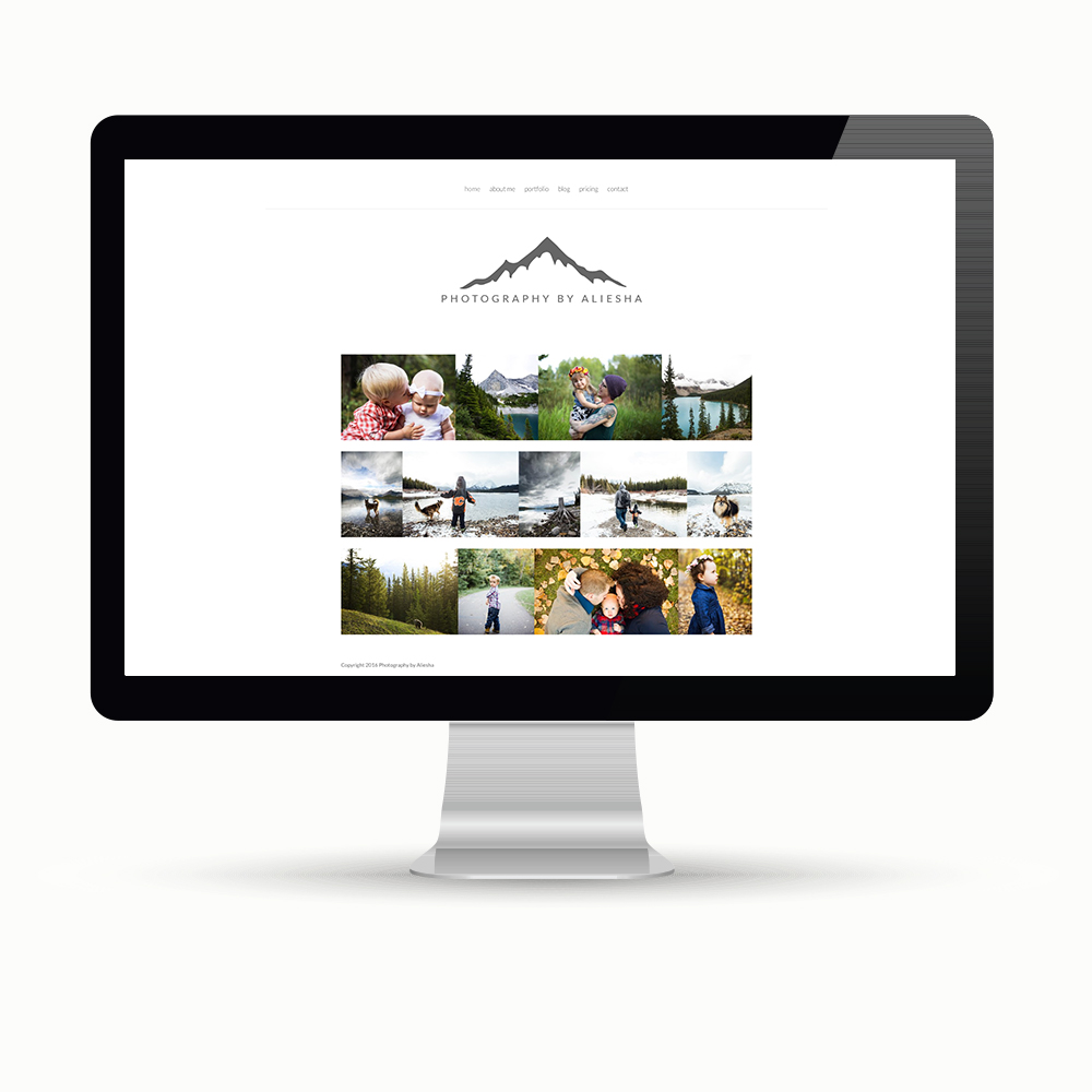 Photography by Aliesha Peterson Logo and website design Maggie Ziegler Courtenay BC