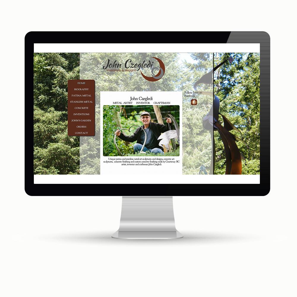 Website and graphic design Maggie Ziegler Art Alchemy Courtenay BC