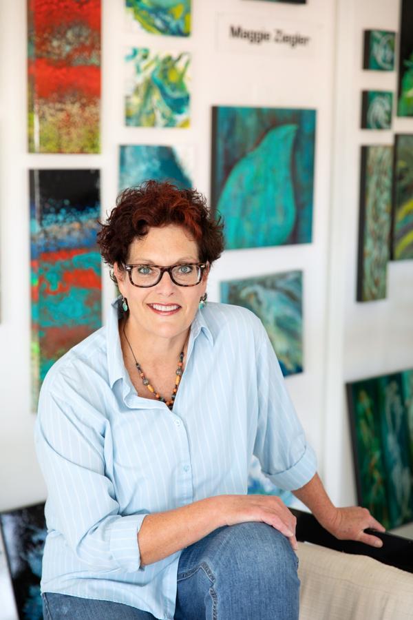 Maggie Ziegler artist and graphic designer Art Alchemy Courtenay BC
