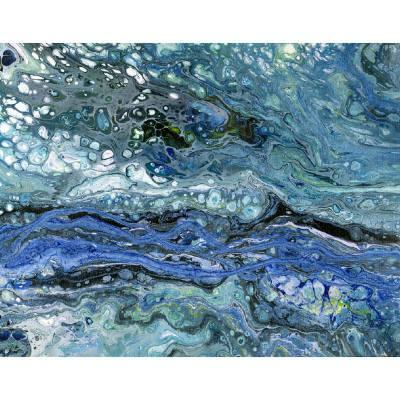 Water Respite Original art and prints by Maggie Ziegler artist and graphic designer Art Alchemy Studio Courtenay BC