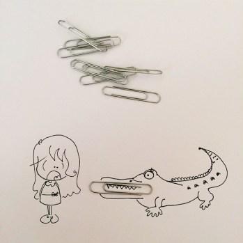 Un coccodrillo e un orango tango (che balla?)