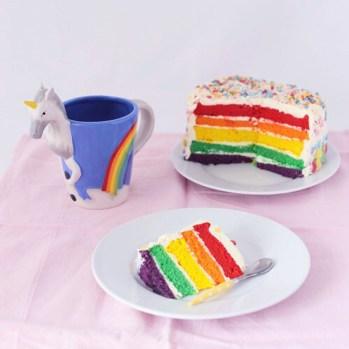 Hai visto mica l'arcobaleno?