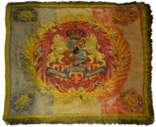 Drapel militar din timpul domniei Principelui Carol I (1872-1881)