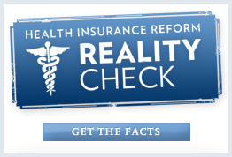 Health Care Reform Reality Check from the White House Site
