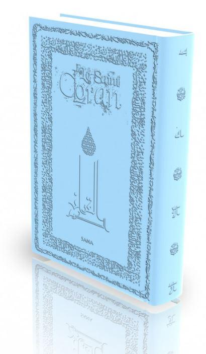 Livre : Le Saint Coran - Bleu Ciel