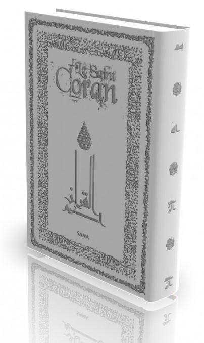 Livre : Le Saint Coran - Gris Claire