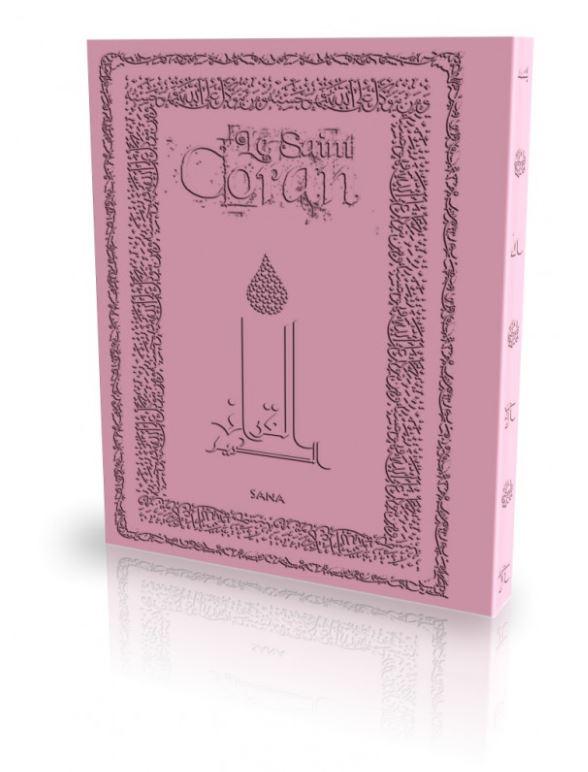 Livre : Le Saint Coran - Mauve
