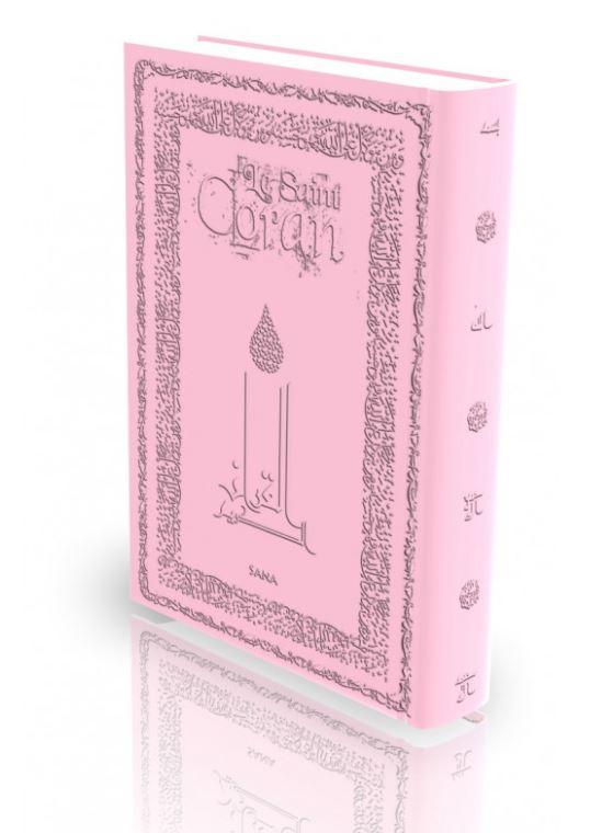 Livre : Le Saint Coran - Rose