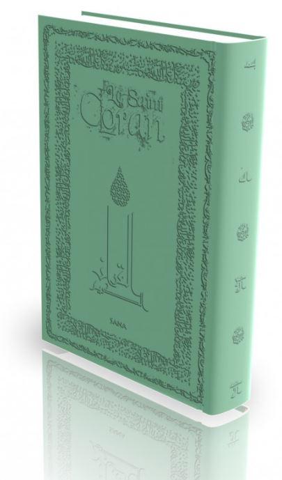 Livre : Le Saint Coran - vert