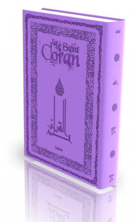 Livre : Le Saint Coran - violet
